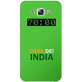 1 Crazy Designer Bollywood Superstar Chak De India Back Cover Case For Samsung Galaxy E7 C421106