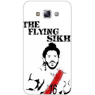 1 Crazy Designer Bollywood Superstar Milkha Singh Back Cover Case For Samsung Galaxy E7 C421107