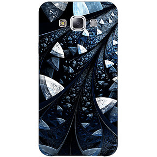1 Crazy Designer Abstract Design Pattern Back Cover Case For Samsung Galaxy E7 C421523