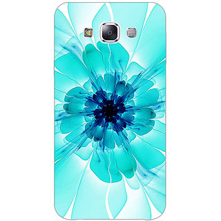1 Crazy Designer Abstract Flower Pattern Back Cover Case For Samsung Galaxy E7 C421526
