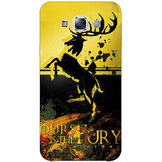 1 Crazy Designer Game Of Thrones GOT Baratheon Back Cover Case For Samsung Galaxy E7 C421530