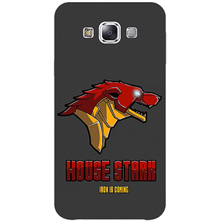 1 Crazy Designer Game Of Thrones GOT House Stark  Back Cover Case For Samsung Galaxy A7 C430126
