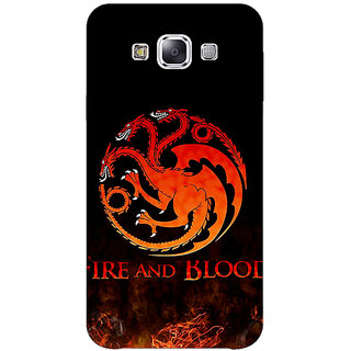 1 Crazy Designer Game Of Thrones GOT House Targaryen  Back Cover Case For Samsung Galaxy A7 C430142