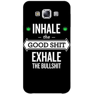 1 Crazy Designer Weed Quotes Back Cover Case For Samsung Galaxy A7 C430500