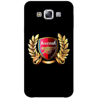 1 Crazy Designer Arsenal Back Cover Case For Samsung Galaxy A7 C430504