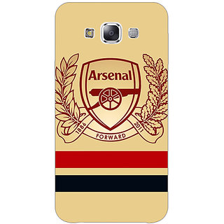 1 Crazy Designer Arsenal Back Cover Case For Samsung Galaxy A7 C430519