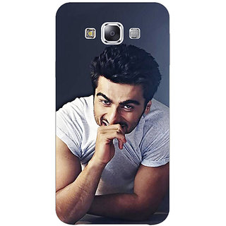 1 Crazy Designer Bollywood Superstar Arjun Kapoor Back Cover Case For Samsung Galaxy A7 C430901