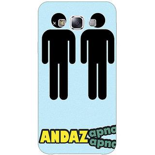 1 Crazy Designer Bollywood Superstar Andaz Apna Apna Back Cover Case For Samsung Galaxy A7 C431080