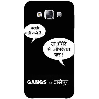 1 Crazy Designer Bollywood Superstar Gangs Of Wasseypur Back Cover Case For Samsung Galaxy A7 C431101