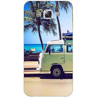 1 Crazy Designer Summer Van Back Cover Case For Samsung Galaxy E7 C421160