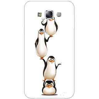 1 Crazy Designer Penguins Madagascar Back Cover Case For Samsung Galaxy A7 C431385