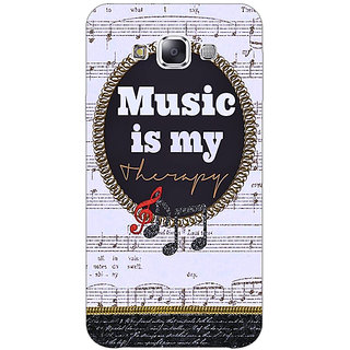 1 Crazy Designer Music Quote Back Cover Case For Samsung Galaxy E7 C421402