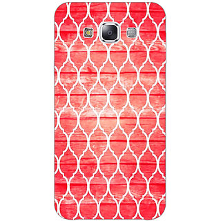 1 Crazy Designer Morocco Pattern Back Cover Case For Samsung Galaxy E7 C421411