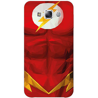 1 Crazy Designer Flash Back Cover Case For Samsung Galaxy E7 C421436