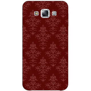 1 Crazy Designer Indian Pattern Back Cover Case For Samsung Galaxy E7 C421437