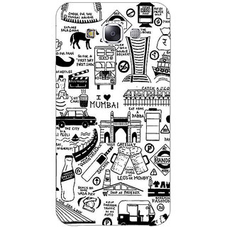 1 Crazy Designer Aamchi Mumbai Back Cover Case For Samsung Galaxy E7 C421444