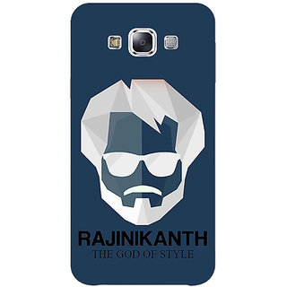 1 Crazy Designer Rajni Rajanikant Back Cover Case For Samsung Galaxy E7 C421482