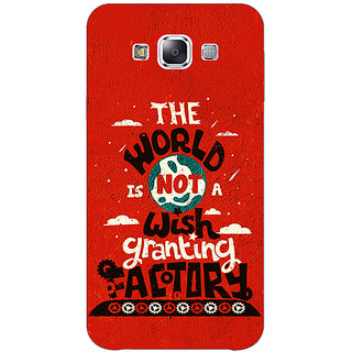 1 Crazy Designer TFIOS Wish Granting Factory  Back Cover Case For Samsung Galaxy E5 C440113
