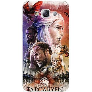 1 Crazy Designer Game Of Thrones GOT House Targaryen  Back Cover Case For Samsung Galaxy E5 C440139