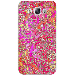 1 Crazy Designer Hot Floral  Pattern Back Cover Case For Samsung Galaxy A7 C430241