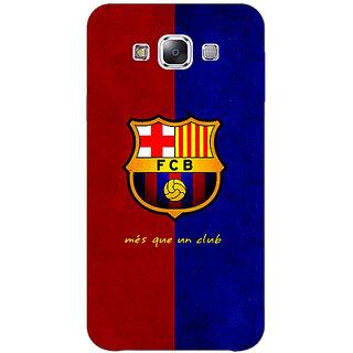 1 Crazy Designer Barcelona Back Cover Case For Samsung Galaxy E5 C440533