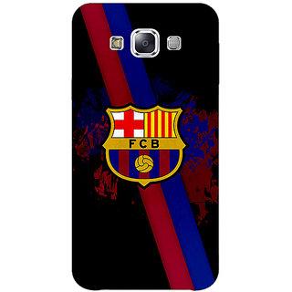 1 Crazy Designer Barcelona Back Cover Case For Samsung Galaxy A7 C430534