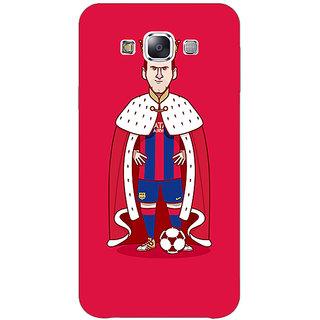 1 Crazy Designer Barcelona Messi Back Cover Case For Samsung Galaxy E5 C440536