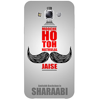 1 Crazy Designer Bollywood Superstar Natwarlal Sharaabi Back Cover Case For Samsung Galaxy A7 C431122