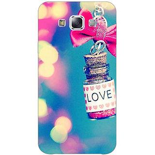 1 Crazy Designer Love Bottle Back Cover Case For Samsung Galaxy A7 C431145