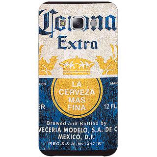1 Crazy Designer Corona Beer Back Cover Case For Samsung Galaxy A7 C431245
