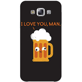 1 Crazy Designer Beer Quotes Back Cover Case For Samsung Galaxy A7 C431447
