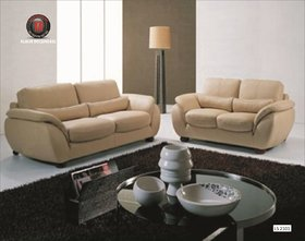 Decotex sofa leather in white