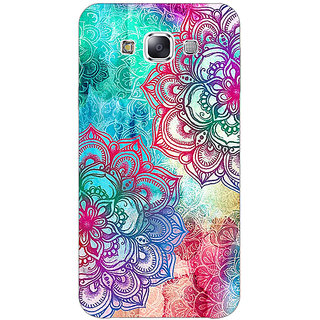 1 Crazy Designer Hot Doodle Pattern Back Cover Case For Samsung Galaxy E5 C440210