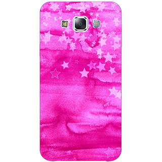 1 Crazy Designer Star Morning Pattern Back Cover Case For Samsung Galaxy E5 C440221