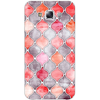 1 Crazy Designer Morrocan Pattern Back Cover Case For Samsung Galaxy E5 C440224