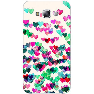 1 Crazy Designer Hearts in the Air Pattern Back Cover Case For Samsung Galaxy E5 C440233