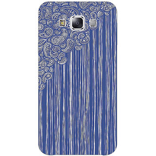 1 Crazy Designer Beauty Curtains Pattern Back Cover Case For Samsung Galaxy E5 C440239