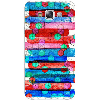 1 Crazy Designer Colourful Winter Pattern Back Cover Case For Samsung Galaxy A7 C430279
