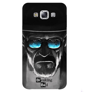 1 Crazy Designer Breaking Bad Heisenberg Back Cover Case For Samsung Galaxy E5 C440426