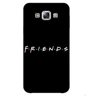 1 Crazy Designer FRIENDS Back Cover Case For Samsung Galaxy E5 C440442