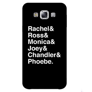 1 Crazy Designer FRIENDS Back Cover Case For Samsung Galaxy E5 C440446