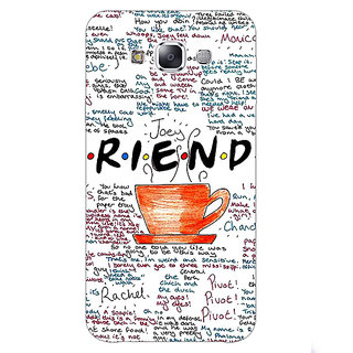 1 Crazy Designer FRIENDS Back Cover Case For Samsung Galaxy E5 C440451