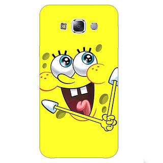 1 Crazy Designer Spongebob Back Cover Case For Samsung Galaxy E5 C440460