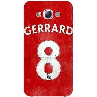 1 Crazy Designer Liverpool Gerrard Back Cover Case For Samsung Galaxy E5 C440546