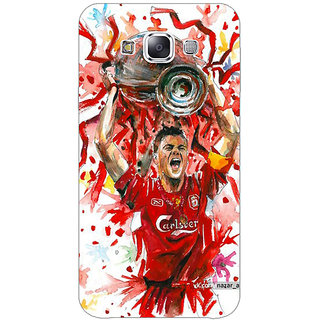 1 Crazy Designer Liverpool Gerrard Back Cover Case For Samsung Galaxy E5 C440550
