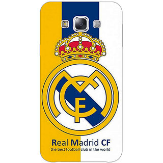 1 Crazy Designer Real Madrid Back Cover Case For Samsung Galaxy E5 C440591