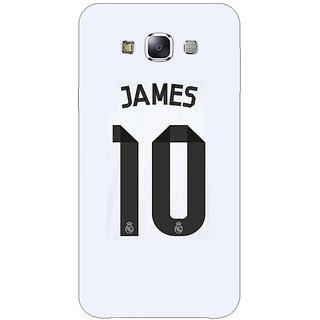 1 Crazy Designer Real Madrid James Rodriguez Back Cover Case For Samsung Galaxy E5 C440592