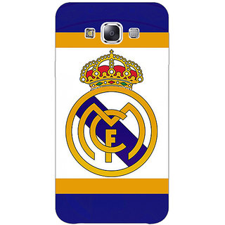 1 Crazy Designer Real Madrid Back Cover Case For Samsung Galaxy E5 C440594