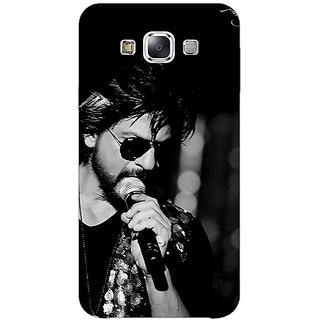 1 Crazy Designer Bollywood Superstar Shahrukh Khan Back Cover Case For Samsung Galaxy E5 C440904