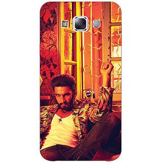 1 Crazy Designer Bollywood Superstar Ranveer Singh Back Cover Case For Samsung Galaxy E5 C440905